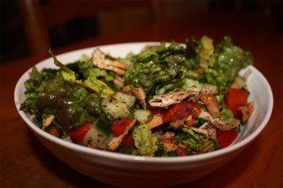 Fattouche (salade libanaise) | Recettes du Québec