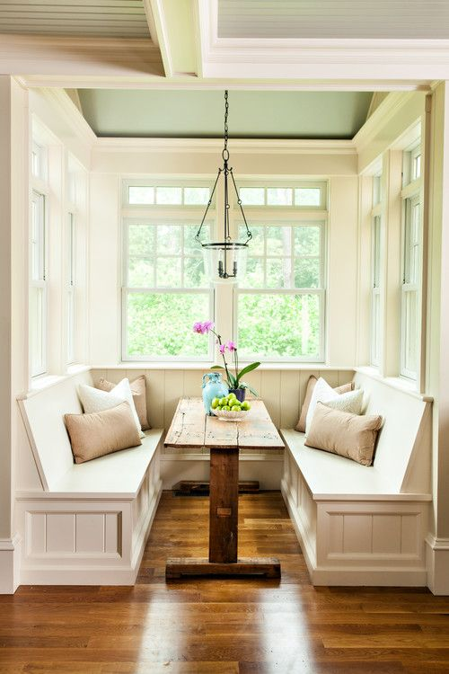 georgianadesign: Structures Building Inc., East Sandwich, MA.... (Georgiana  Design). Breakfast Nook DecorEast Breakfast IdeasKitchen ...