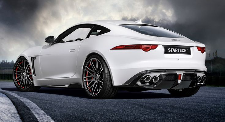 Jaguar F-Type Coupe Tries On A Startech Outfit For Geneva