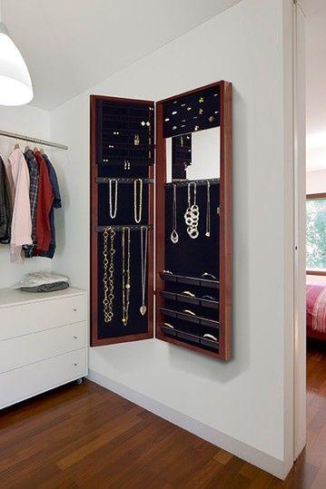 wall mounted jewerly storage