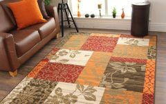 Cheap Large Area Rugs For Sale Details About New Warm Red Orange Modern Patchwork Rugs Small