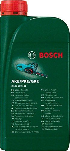 Bosch 2607000181 Chainsaw Oil for Bosch AKE Chainsaws, Biodegradable, 1 L