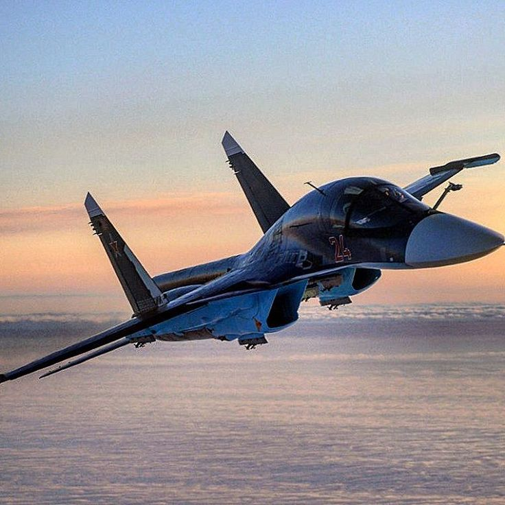 Su-34 FULLBACK - Supersonic All-weather medium-range fighter-bomber