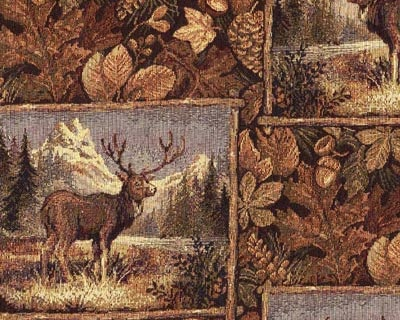 Buckshot Rustic Futon Covers - Deer Pattern