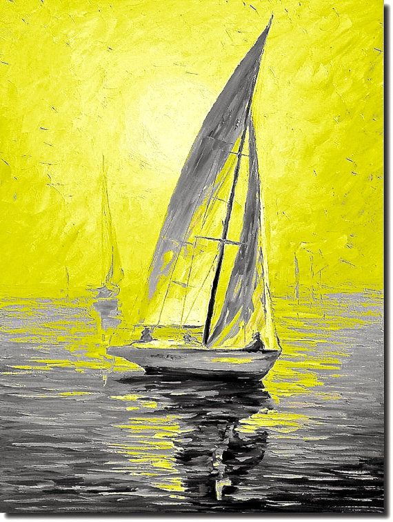 239 best art seascape w boats images on Pinterest | Sailing ships ...