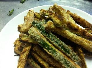 Almond Flour Zucchini Fries :D