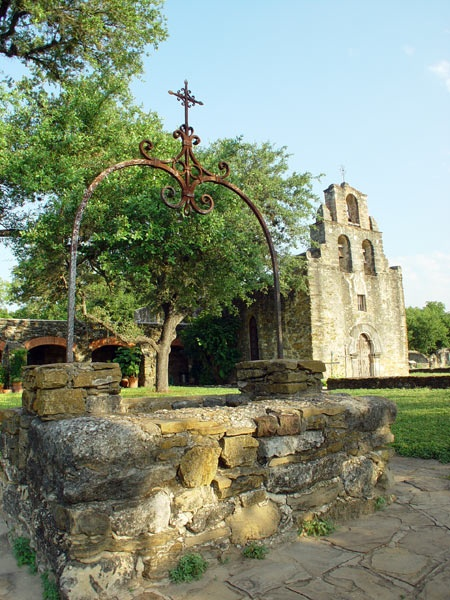Mission Espada, San Antonio.  All of the local missions and cathedrals have their own photo policies and (possibly) fees.  It's important to call ahead or email them to clarify their policy.