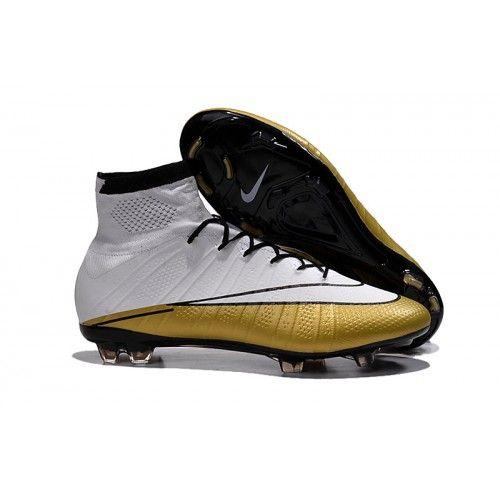 new product 42a91 de819 Nike Mercurial Superfly CR7 FG Scarpe da calcio bianca Oroen  Scarpe da  calcio poco prezzo