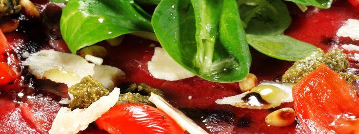 Yummie-recept voor carpaccio. Ook leuk om te lezen, waar de carpaccio 'vandaan komt'! #harry'sbarvenezia #venetiue #recept
