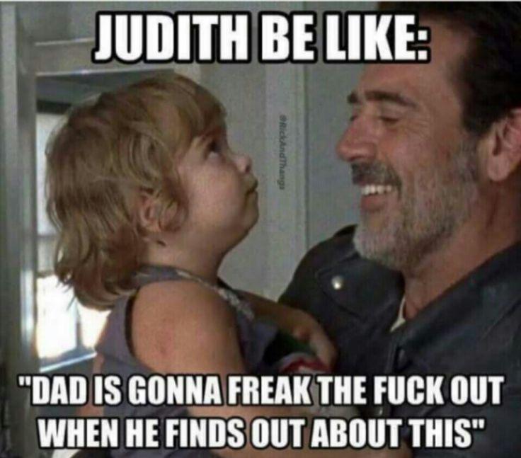 The Walking Dead #TWD #NEGAN #JUDITH
