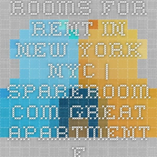 Rooms for Rent in New York NYC | SpareRoom.com Great Apartment Finder website. Love it!