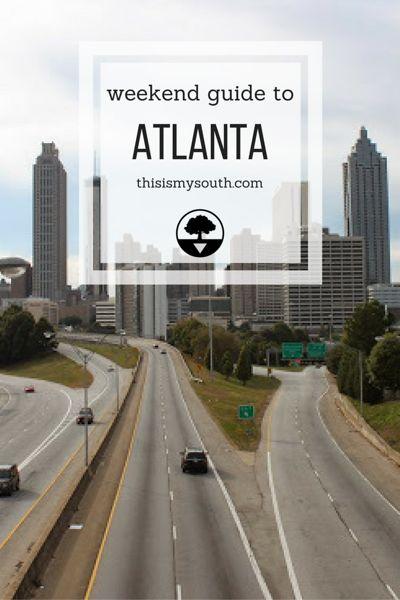 Weekend Guide to Atlanta via thisismysouth.com
