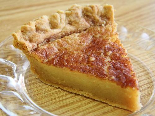 Sugar cream pie ~