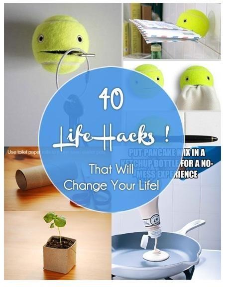 40 Life Hacks That Will make life easier