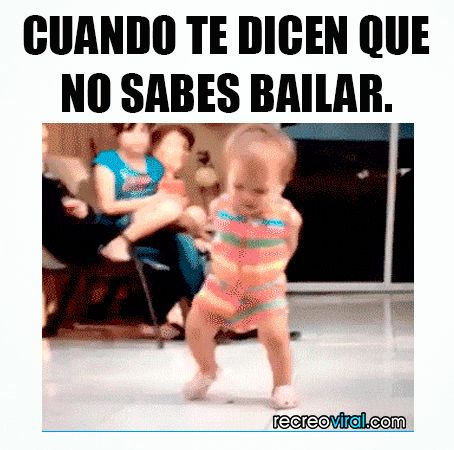 Cuando te dicen que no sabes bailar #vwhatsapp #gifs #gif