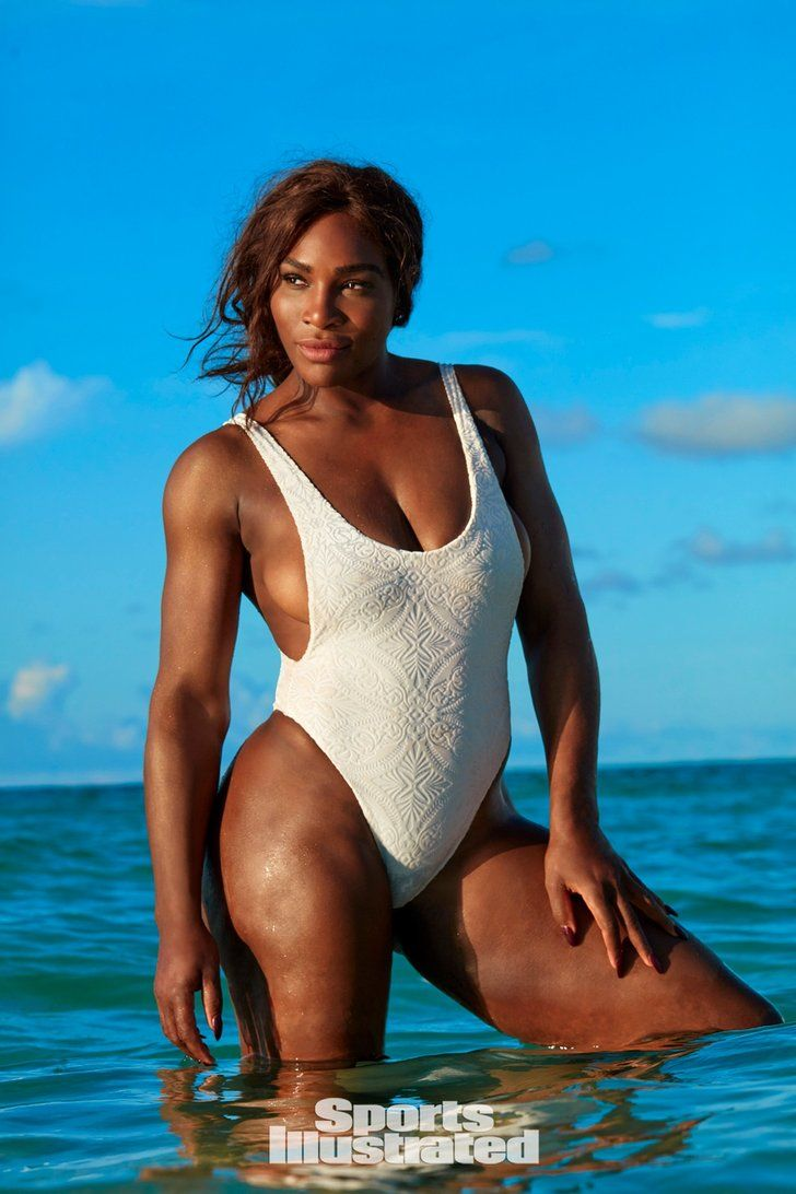 "These Sports Illustrated Swimsuit Photos Prove That Serena Williams Is Code For ""Goddess"""