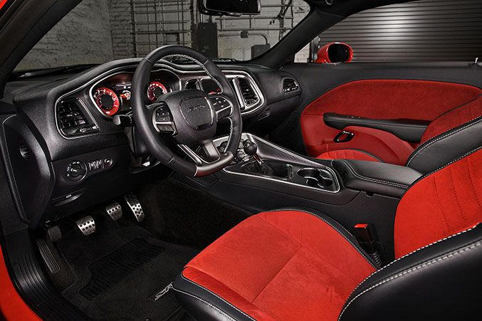 2015 Dodge Challenger SRT Hellcat custom interior