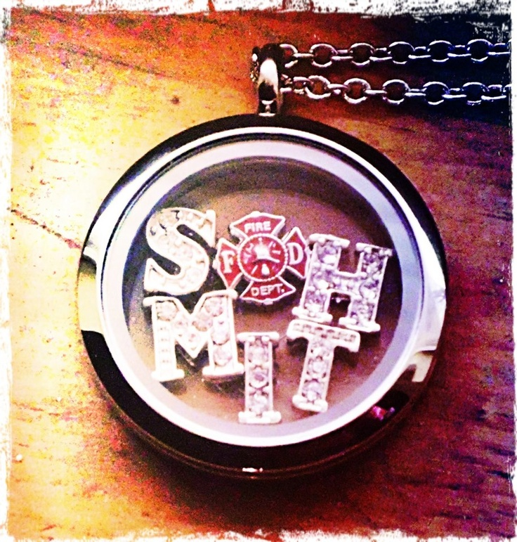 Firefighter family? Honor someone you know with a South Hill Designs locket! New letters in silver and Gold now avaliable! Come click on link to see! shdcharmed@yahoo.com with any questions! Amy Jo Hiort South Hill Designs Independent Artist