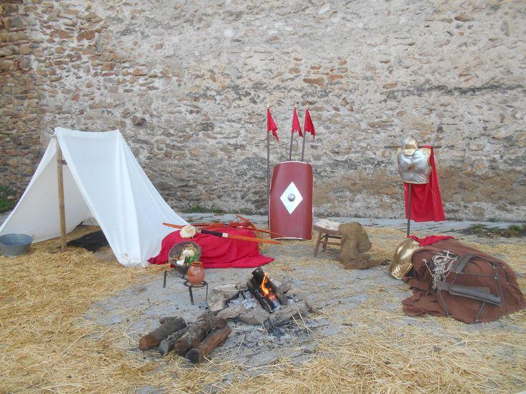 Escenario Belen Vivien te 2015. campamento Romano.
