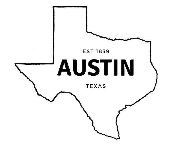 Map Of Texas With Austin.Austin Texas Map State Map History Texas Austin Texasforever
