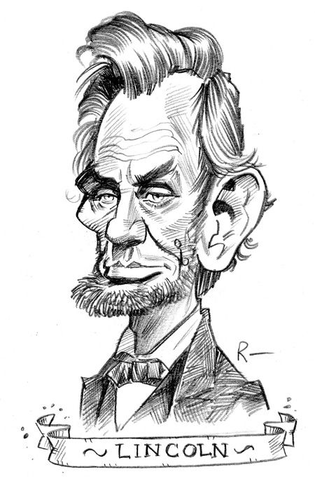Abraham Lincoln by Tom Richmond