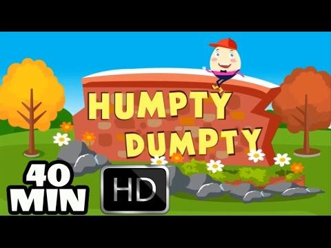 Humpty Dumpty HD Version | Nursery Rhymes Collection and Baby Songs from...