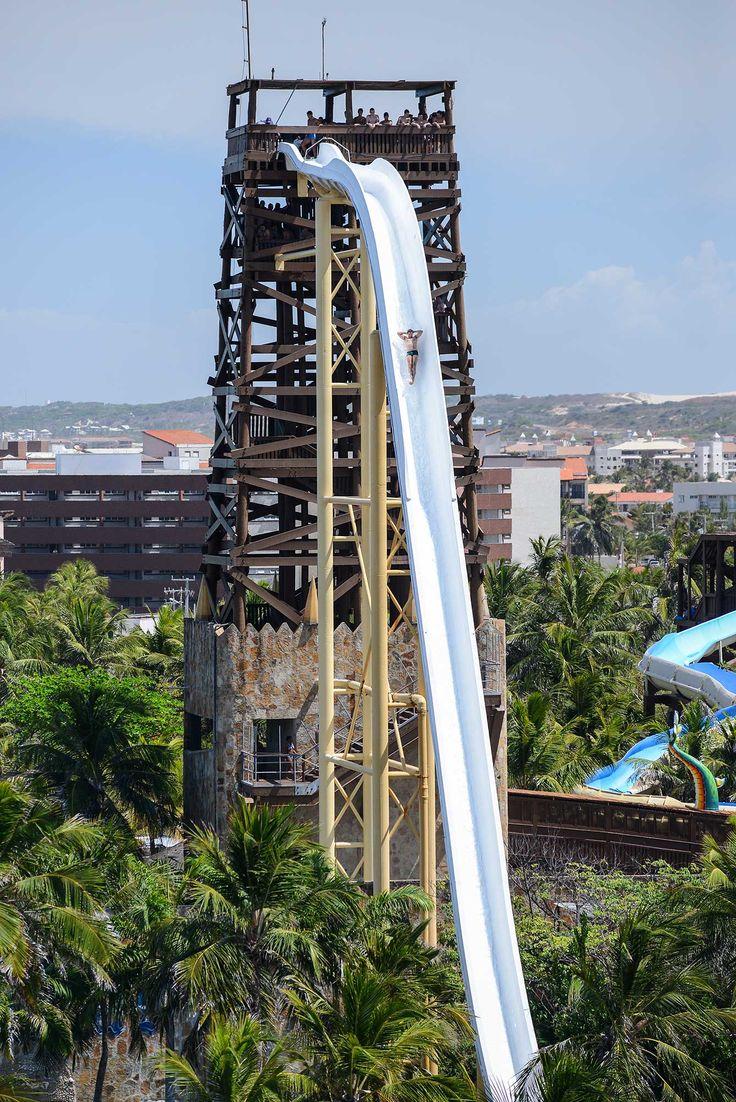 Insano, toboágua com 41 metros no Beach Park, Ceará. #Adrenaline