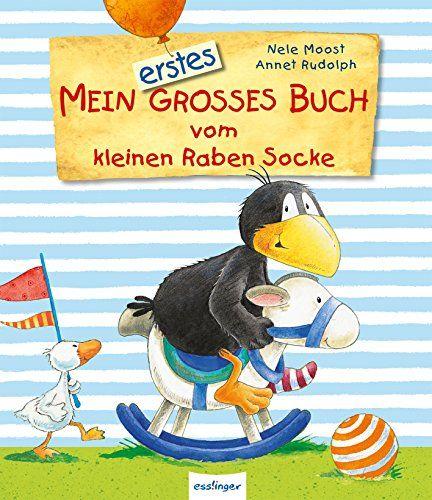 Mein erstes großes Buch vom kleinen Raben Socke von Nele Moost http://www.amazon.de/dp/3480228844/ref=cm_sw_r_pi_dp_wK2zvb14VCQGD