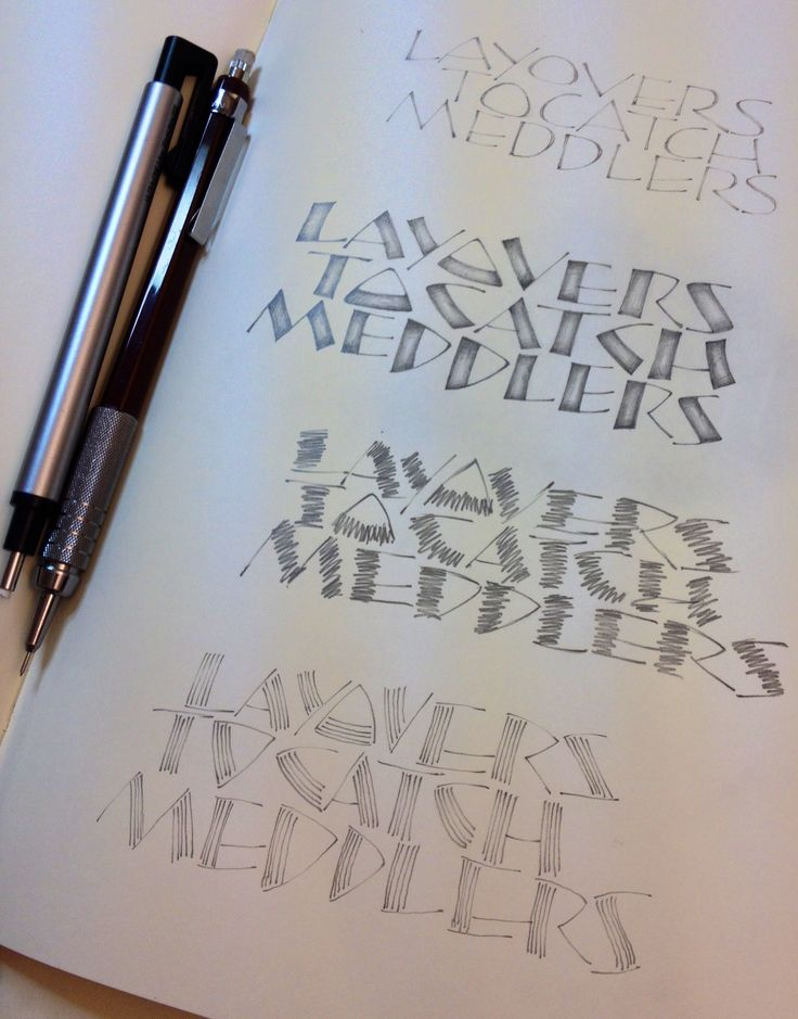 90 Best Images About Calligraphy Pencil On Pinterest