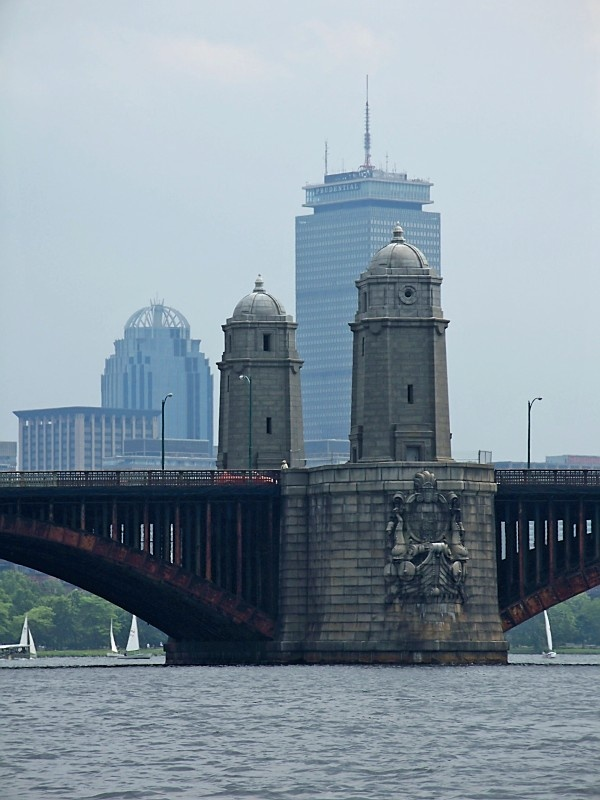 View from the Charles River- Boston