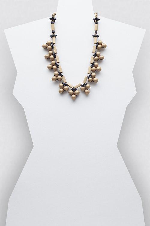 Simone Necklace #necklace #jewellery #jewelry #fashionaccessories #accessories #beadednecklace #ceramicbeads #ethnicstyle #bohostyle