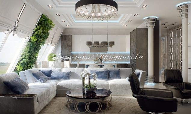 Дизайн интерьера квартиры в стиле минимализм. Фото 2016