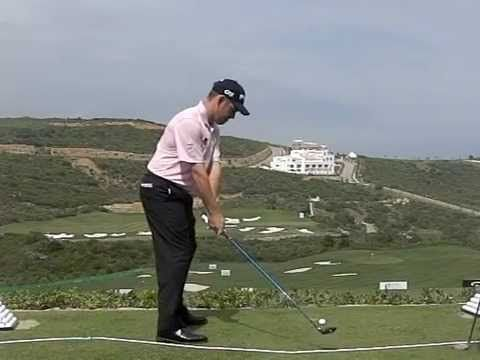 Louis Oosthuizen Golf Swingclub Stays Outside Of Hands During Takeaway Via Turning