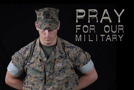 Pray for our Military.  || God bless them all!  ♥