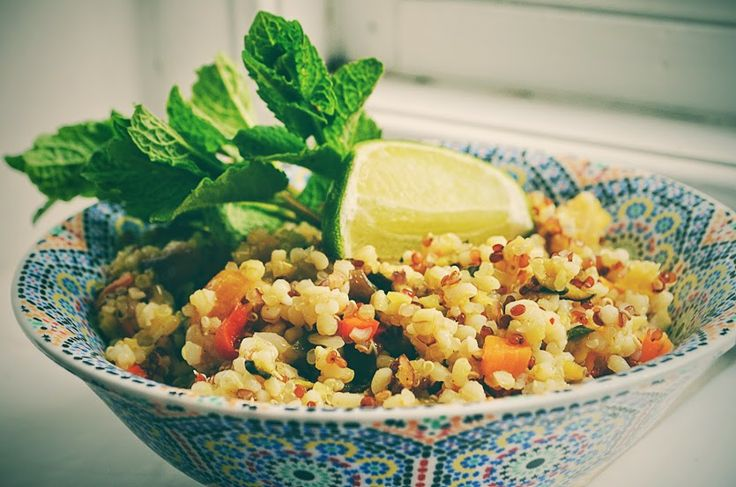 Recipe post: Quinoa with Sweet and Spicy Vegetable Salad, by Callie ...