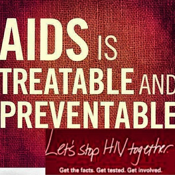 AIDS is Treatable and Preventable #WAD2012