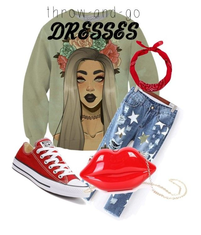 """Senza titolo #3"" by valealevelo on Polyvore featuring moda, Converse, New Look e WithChic"