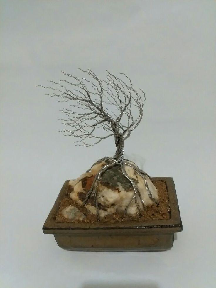 Wire tree - Vítr
