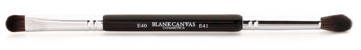 Blank Canvas Cosmetics Store - E40/41 Double Ended Tapered Crease Blender/Smudger, $11.97 (http://www.blankcanvascosmetics.com/products/e40-41-double-ended-tapered-crease-blender-smudger.html)