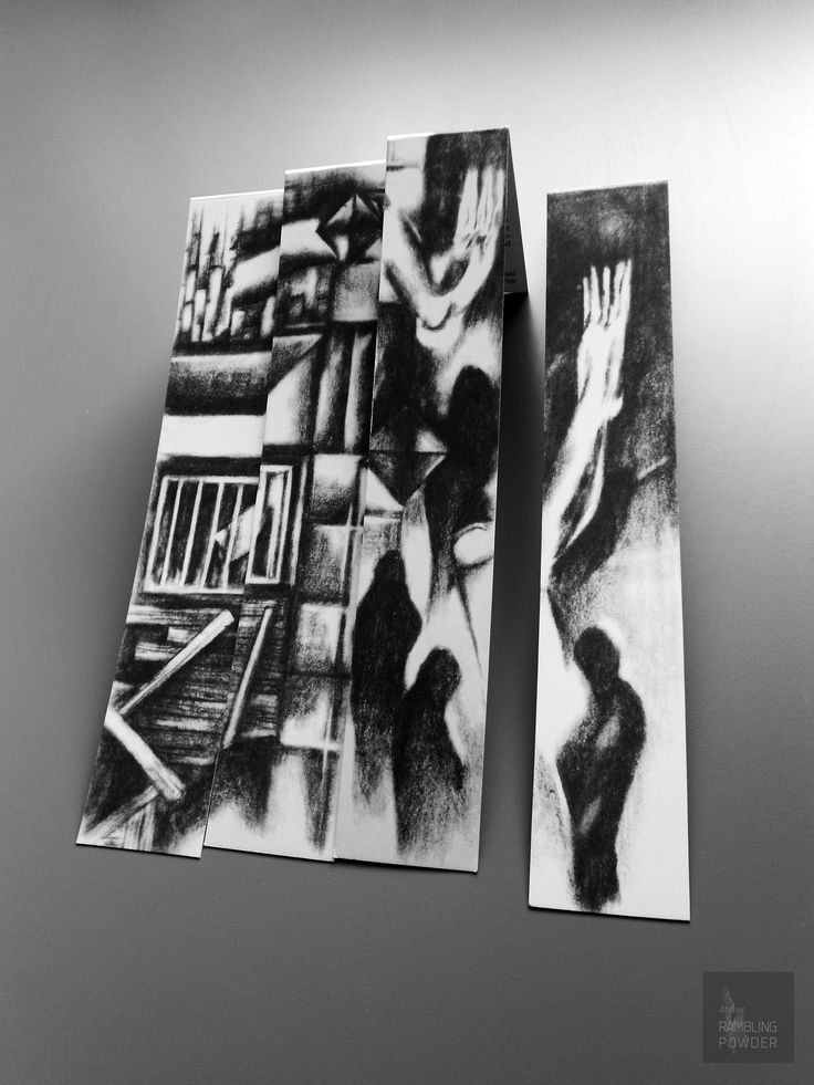 The Sounds of Human Life Revived_Bookmarks influenced by the writer Edgar Allan Poe.#artprint, #black and white, #edgar allan poe,  #caspar david friedrich, #romanticism, #expressionism, #drawing, #abstract, #architecture, #illustration, #space, #the wall, #rambling powder, #poster, #artwork, #pencil drawing,  #illustration art, #bookmark, #crowd