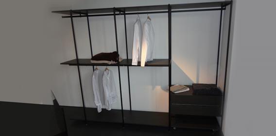 Cabina armadio slide extendo moro arredamenti camera for Moro arredamenti