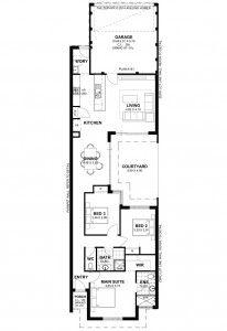 Zephyr Laneway Floorplan