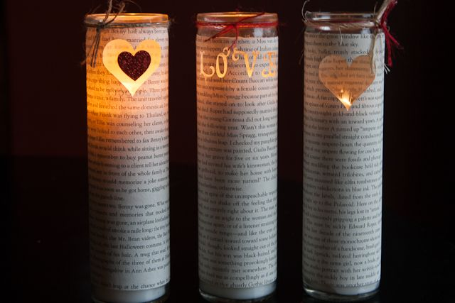 Tutorial: make sweet heart candles