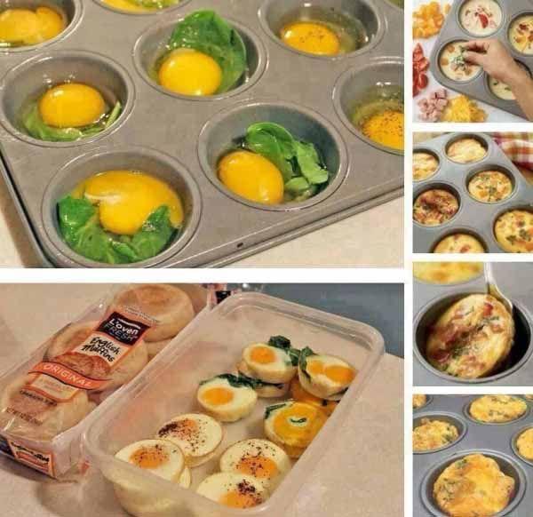 Tip na raňajky: Vajíčkové muffiny