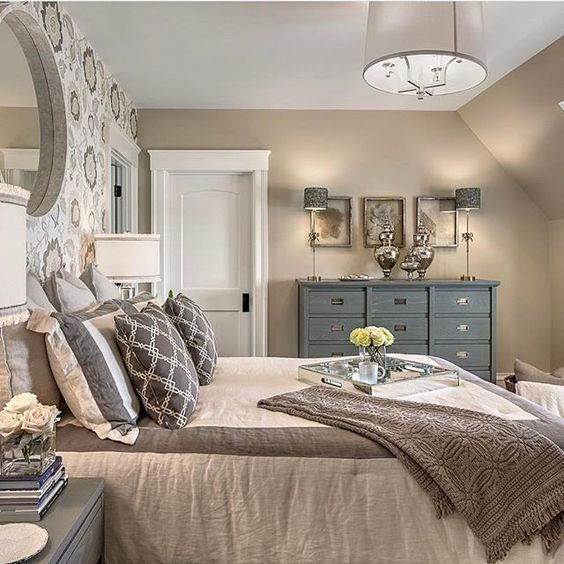 Silver Accent Wall Bedroom Bedroom Colors Brown Furniture Bedroom Furniture Paint Traditional Master Bedroom Decorating Ideas: 25+ Best Ideas About Traditional Bedroom Decor On