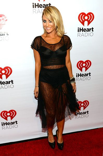 Aubrey O'Day - iHeartRadio Music Festival Village - Backstage