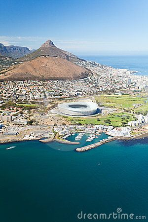 Aerial view of Cape Town, South Africa www.superiorsalesandrentals.co.za