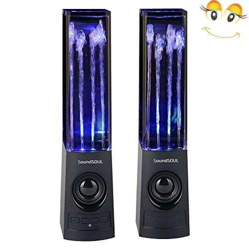 #super #Soundsoul Wireless Bluetooth Music Fountain Dancing Water Speakers Note: The bluetooth wireless signal will affected by the surrounding envirnment. For a...
