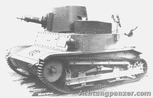 Polish TKD 47 mm gun, pin by Paolo Marzioli
