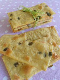 Crackers di kami e semi di zucca